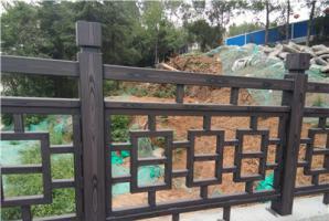 湖北襄阳钢构栏杆仿木纹施工厂家