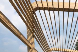 浙江河道护栏仿木纹施工