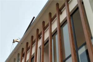 河南濮阳窗户外不锈钢木纹漆